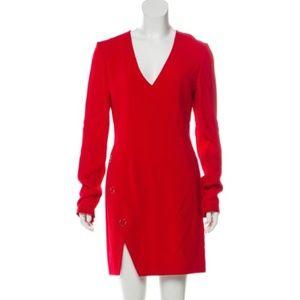 Mugler sheath dress Red size 8